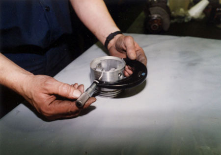 measuring pistons